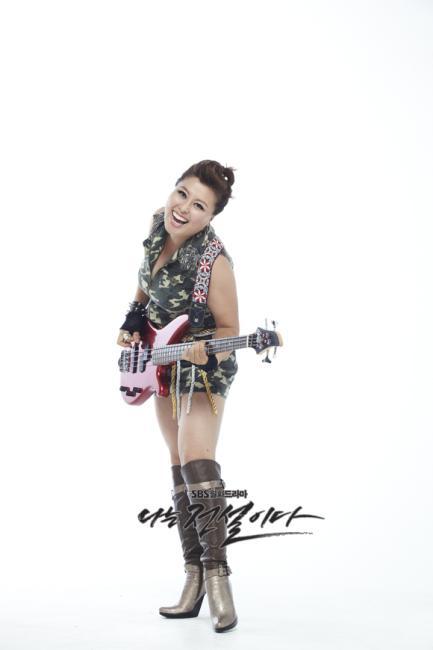 마돈나밴드 베이시스트 / 대한민국 대표 아줌마 - 이화자 (홍지민)