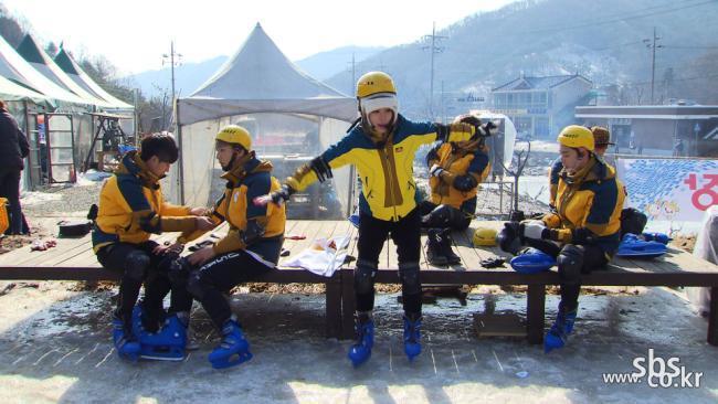 SBS [일요일이 좋다 - 런닝맨] 2014 런닝맨 동계올림픽! 가자 소치로!