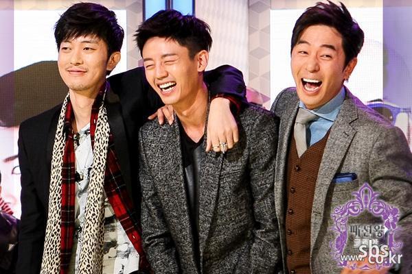<제작발표회> 윤건-이지훈-붐, '빵~ 터졌네!'
