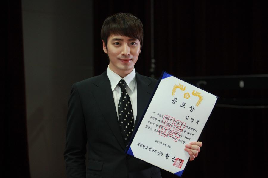 SBS 드라마 스페셜 [시티헌터] '셜록홈즈 이준혁, 연기대상 받고 싶은 속내밝혀..